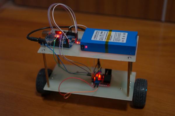 Two-wheel self-balancing robot